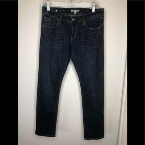 Nwot CAbi Blue jeans straight leg size 4